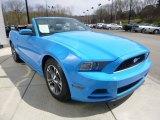 2014 Ford Mustang Grabber Blue