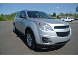 2010 Silver Ice Metallic Chevrolet Equinox LS #92551215