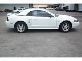 2003 Oxford White Ford Mustang V6 Convertible #9246137