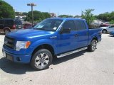 2014 Blue Flame Ford F150 STX SuperCrew #92590501