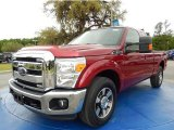 2015 Ruby Red Ford F250 Super Duty Lariat Super Cab #92590606