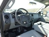 2015 Ford F250 Super Duty XL Regular Cab 4x4 Steel Interior