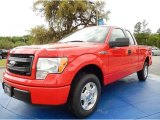2014 Race Red Ford F150 STX SuperCab #92590599