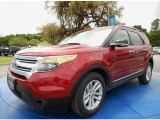2014 Ruby Red Ford Explorer XLT #92590595