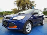 2014 Deep Impact Blue Ford Escape S #92590593