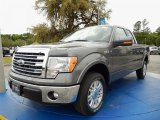 2014 Sterling Grey Ford F150 Lariat SuperCab #92590589