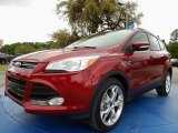 2014 Ruby Red Ford Escape Titanium 2.0L EcoBoost #92590586
