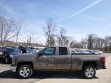 2014 Brownstone Metallic Chevrolet Silverado 1500 LT Double Cab 4x4 #92591184