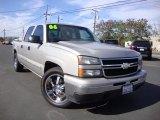 2006 Sandstone Metallic Chevrolet Silverado 1500 LS Crew Cab #92590928