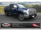 2014 Blue Ribbon Metallic Toyota Tundra Limited Crewmax 4x4 #92590335