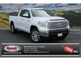 2014 Super White Toyota Tundra Limited Double Cab 4x4 #92590333