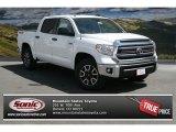 2014 Super White Toyota Tundra SR5 TRD Crewmax 4x4 #92590331
