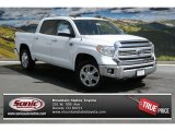2014 Super White Toyota Tundra 1794 Edition Crewmax 4x4 #92590328
