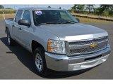 2013 Silver Ice Metallic Chevrolet Silverado 1500 LT Crew Cab #92591026