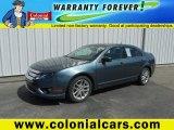 2011 Steel Blue Metallic Ford Fusion SEL #92591150