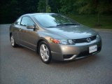 2006 Galaxy Gray Metallic Honda Civic LX Coupe #9233237