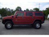2003 Sunset Orange Metallic Hummer H2 SUV #9246118