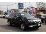 2011 Crystal Black Pearl Acura MDX  #92652034
