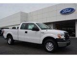 2014 Oxford White Ford F150 XL SuperCab #92652175