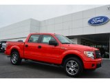 2014 Race Red Ford F150 STX SuperCrew #92652173