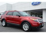 2014 Ruby Red Ford Explorer XLT #92652168