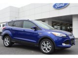 2014 Deep Impact Blue Ford Escape Titanium 2.0L EcoBoost #92652164