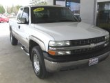 2002 Summit White Chevrolet Silverado 1500 LS Extended Cab 4x4 #92652465