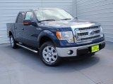 2014 Blue Jeans Ford F150 XLT SuperCrew #92652293