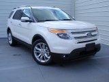 2014 White Platinum Ford Explorer Limited #92652288