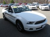 2011 Performance White Ford Mustang V6 Convertible #92652425