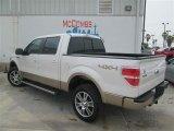 2014 White Platinum Ford F150 Lariat SuperCrew 4x4 #92713148