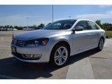2014 Reflex Silver Metallic Volkswagen Passat TDI SEL Premium #92718284