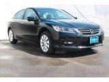 2014 Crystal Black Pearl Honda Accord EX Sedan #92718175