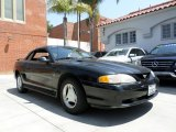 1996 Black Ford Mustang V6 Convertible #92718156
