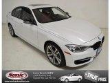2014 Mineral White Metallic BMW 3 Series 335i Sedan #92718245