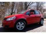 2007 Bright Red Suzuki SX4 AWD #92718308