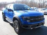 2014 Blue Flame Ford F150 SVT Raptor SuperCrew 4x4 #92718409