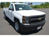 2014 Summit White Chevrolet Silverado 1500 WT Regular Cab #92747340