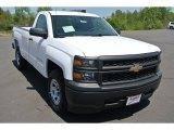 2014 Summit White Chevrolet Silverado 1500 WT Regular Cab #92747338