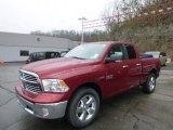 2014 Deep Cherry Red Crystal Pearl Ram 1500 Big Horn Quad Cab 4x4 #92747246