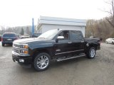 2014 Black Chevrolet Silverado 1500 High Country Crew Cab 4x4 #92747083