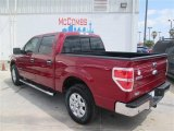 2014 Ruby Red Ford F150 XLT SuperCrew #92747044