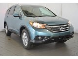 2014 Mountain Air Metallic Honda CR-V EX-L AWD #92746956