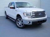 2014 White Platinum Ford F150 Lariat SuperCrew #92789521