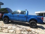 2014 Blue Flame Ford F150 STX SuperCrew 4x4 #92789234