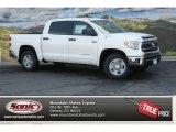 2014 Super White Toyota Tundra SR5 Crewmax 4x4 #92789137