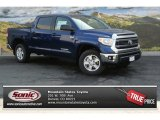 2014 Blue Ribbon Metallic Toyota Tundra SR5 Crewmax 4x4 #92789135