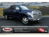 2014 Blue Ribbon Metallic Toyota Tundra 1794 Edition Crewmax 4x4 #92789134