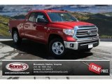 2014 Barcelona Red Metallic Toyota Tundra SR5 Double Cab 4x4 #92789132