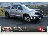 2014 Silver Sky Metallic Toyota Tundra SR5 TRD Crewmax 4x4 #92789131